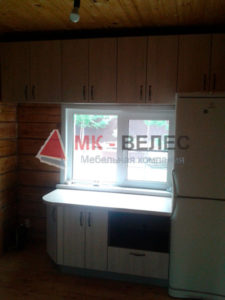 кухни с фасадами лдсп в новосибирске недорого